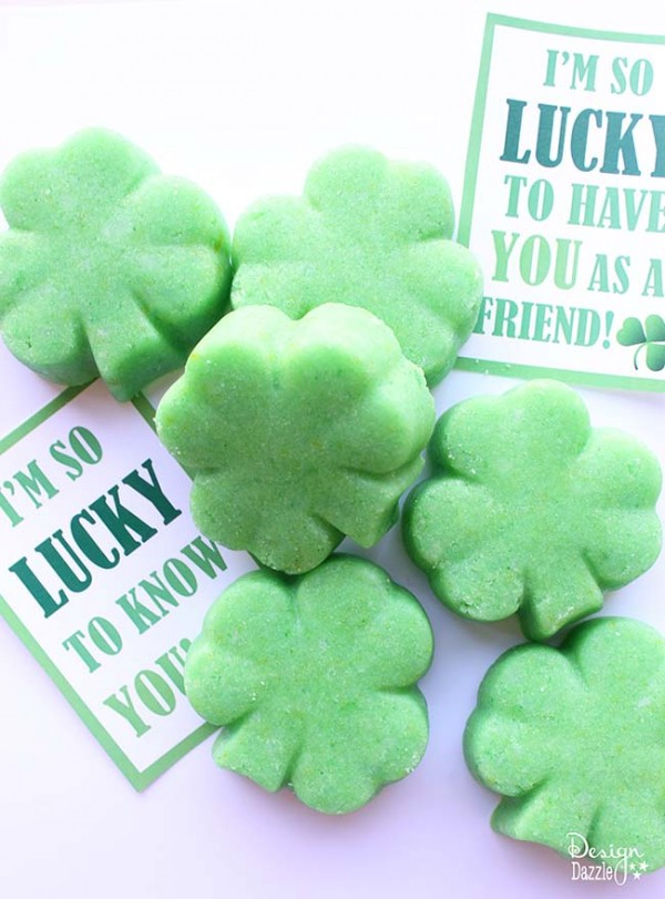 St. Patrick's Day free printable gift tags