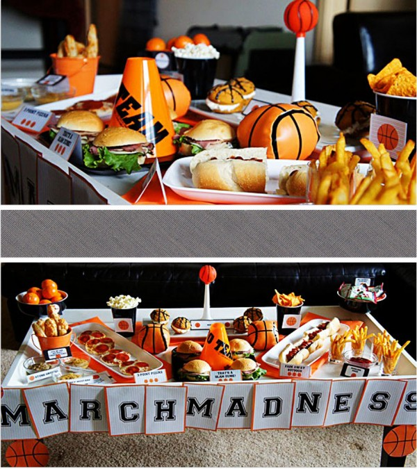 march madness party food