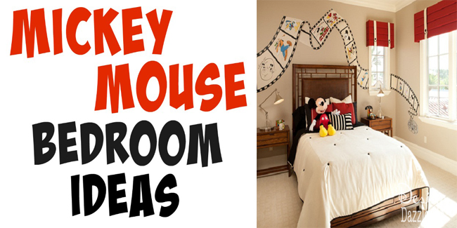 Mickey Room Ideas