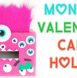 Monster Valentine Card Holder