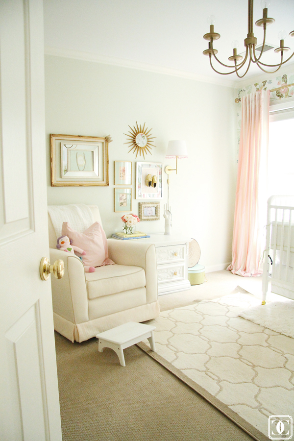 Perfect Mix Of An Eclectic And Vintage Nursery