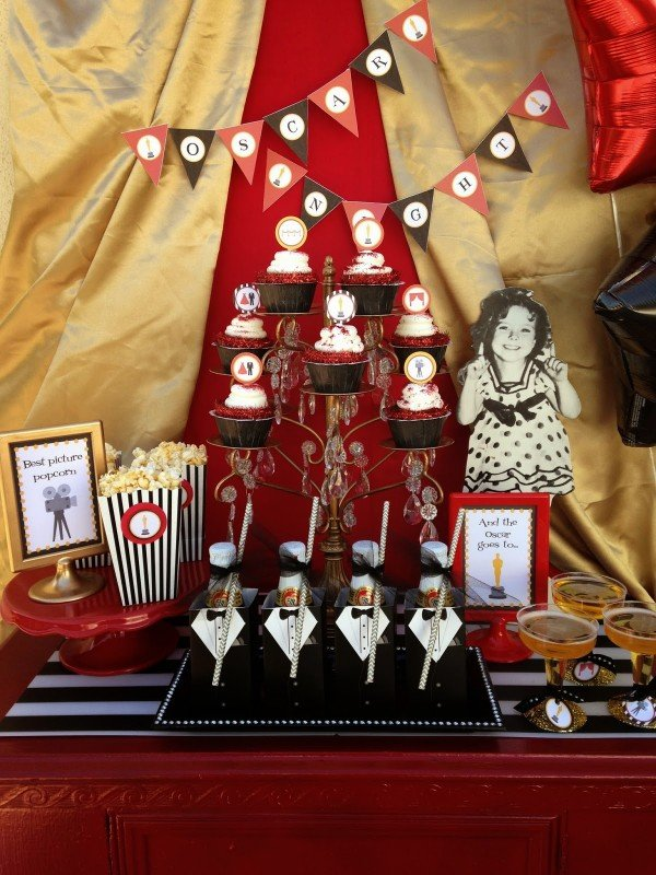 Oscar Party ideas and free printables!