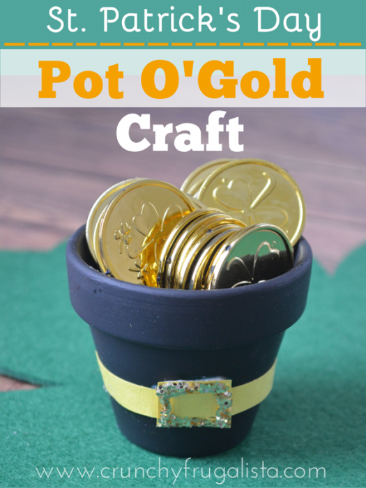 st. patrick's day pot of gold craft - St. Patrick's Day classroom activities
