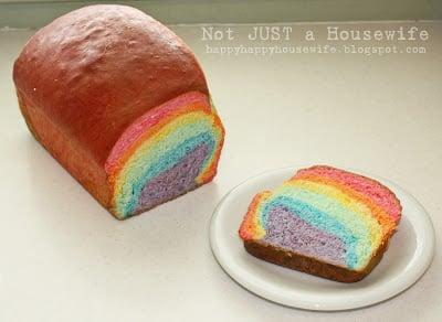 rainbbow bread