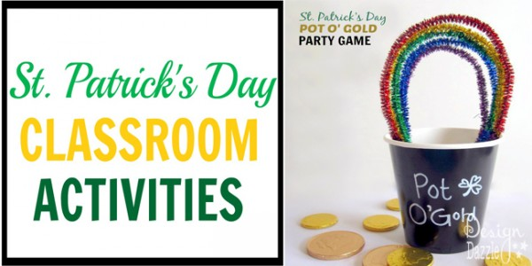 st patricks day classroom activities