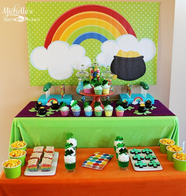 St. Patrick's Day party ideas and other shenanigans for the upcoming holiday!