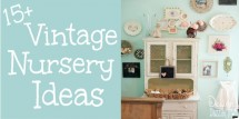 vintage nursery ideas