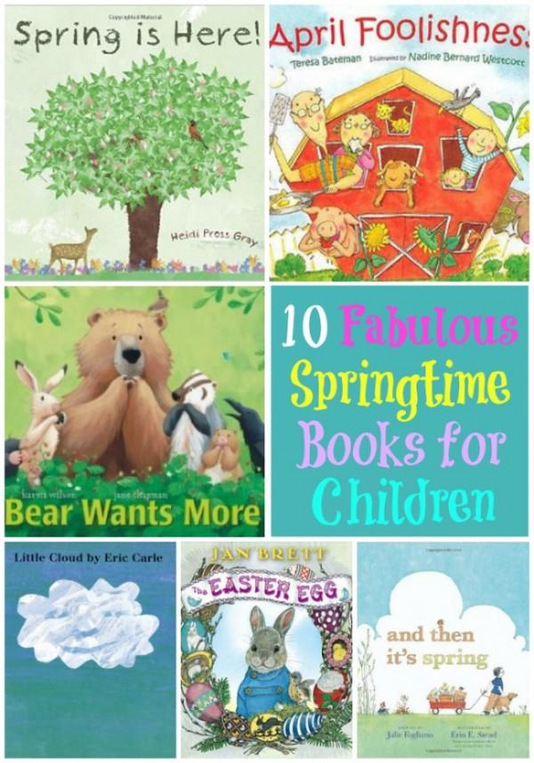10 fabulous Springtime books for children!