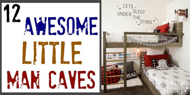 A Little Man Cave Round Up Design Dazzle