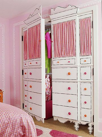 neat closet doors & Decorating Door Ideas for Girls - Design Dazzle