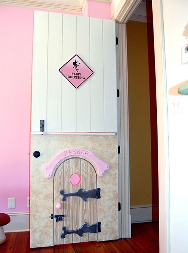 Disney-inspired fairy door