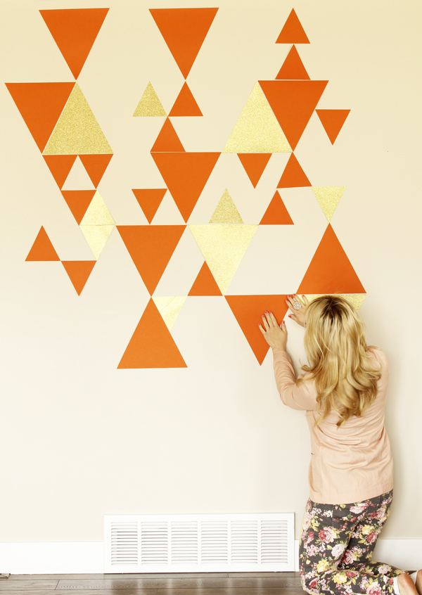 This DIY photo backdrop is stunning!