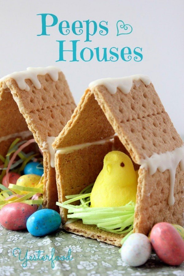 Easter Version Of Gingerbread House I Love It
