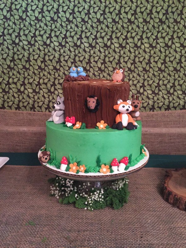 Forest Friends Baby Shower