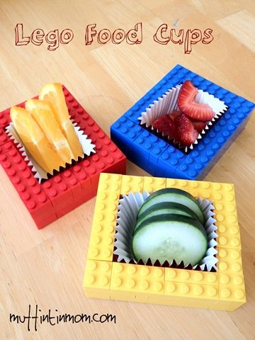 How fun would these be for a lego party!