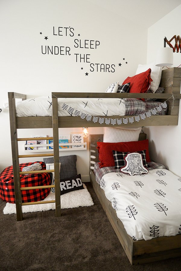 Room Makeover Lumberjack Style Design Dazzle