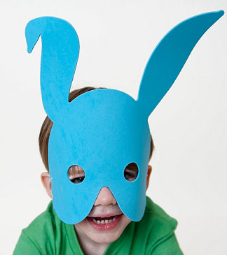 These bunny masks are so cute! Perfect Easter gifts for boys in this post - LOVE IT!