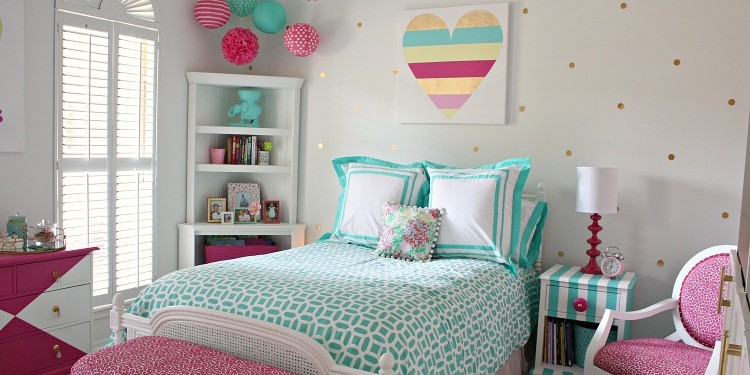 Bright and Bold Tween Room