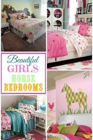 Beautiful girls horse bedrooms 1