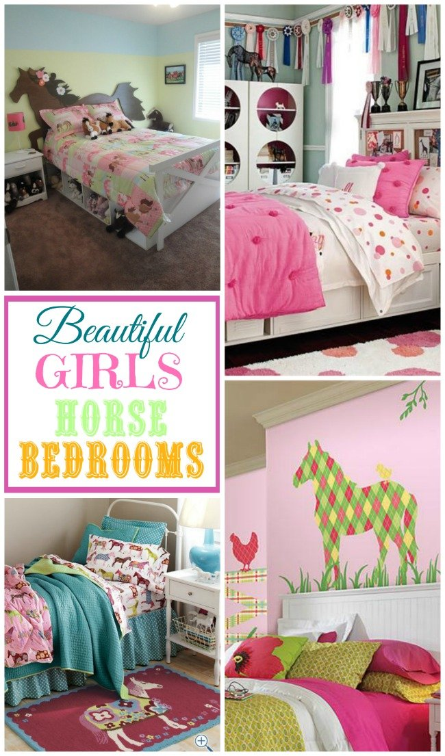 Merveilleux Beautiful Girls Horse Bedrooms For Those Sweet Little Horse Lovers
