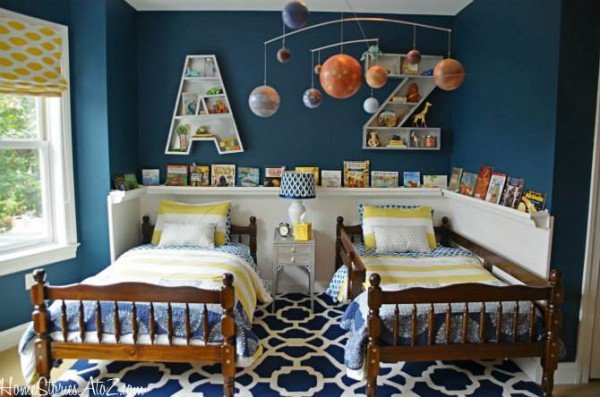 This boys bedroom is fantastic!