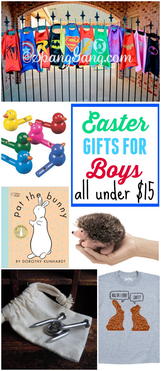 10 Easter Gifts For Boys Under $15