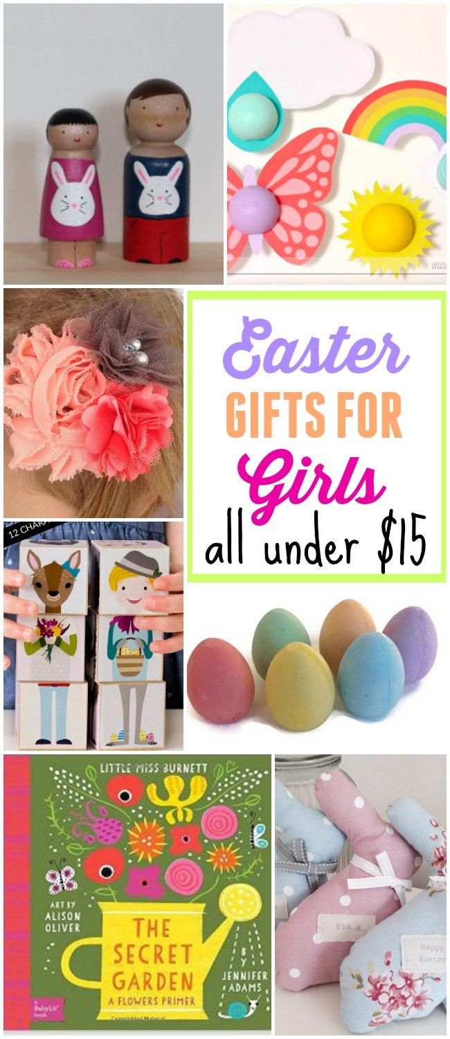 10 Fabulous Easter Gifts for Girls - all under $15!!