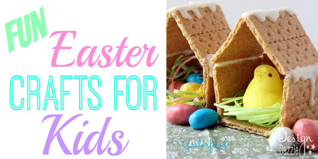 DIY Easter Crafts To Do With Your Kids!