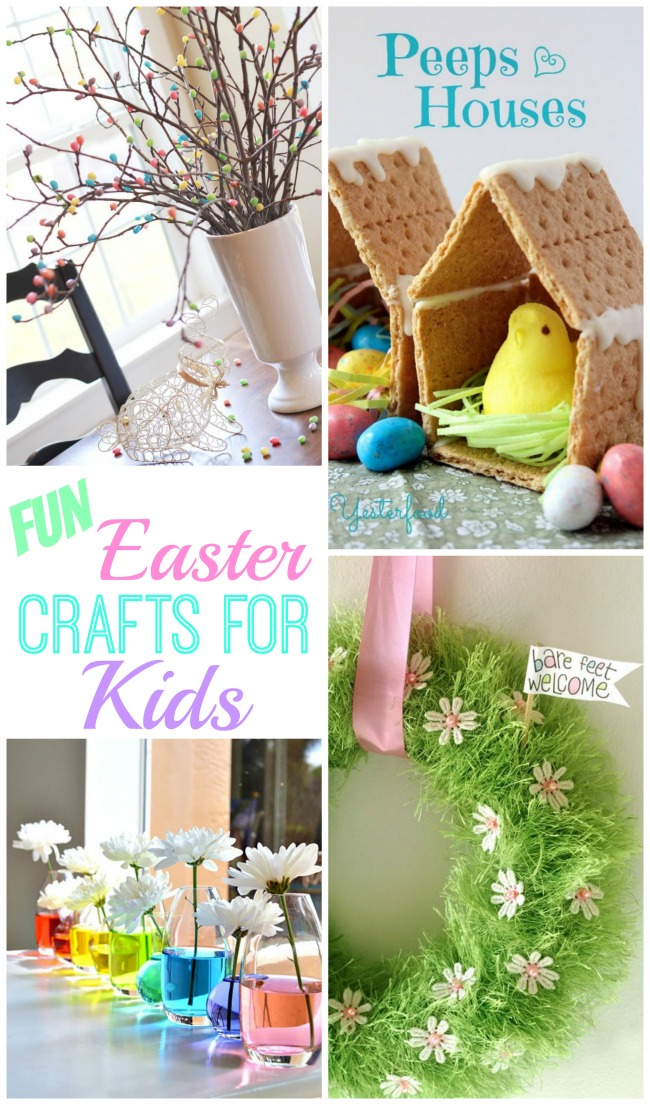 DIY Easter Crafts To Do With Your Kids! - Design Dazzle