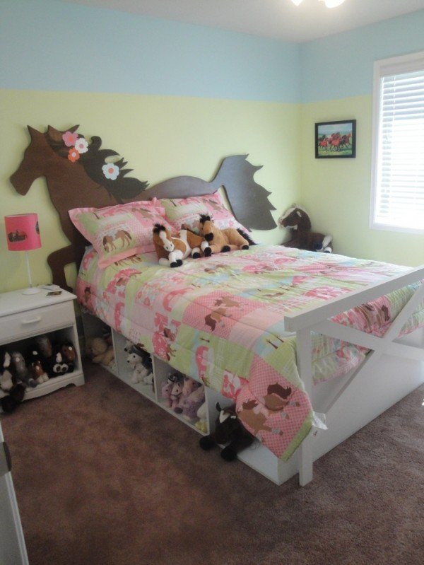 Luxury horse bedroom