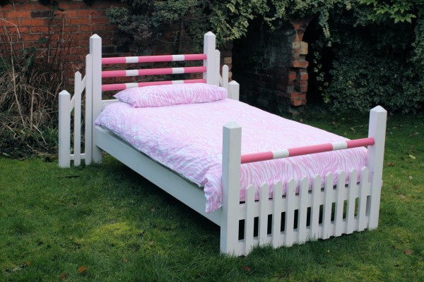 Lovely pony bed a horse jump bed sure to delight your little lady