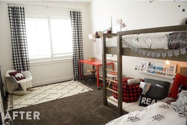 Room Makeover Lumberjack Style