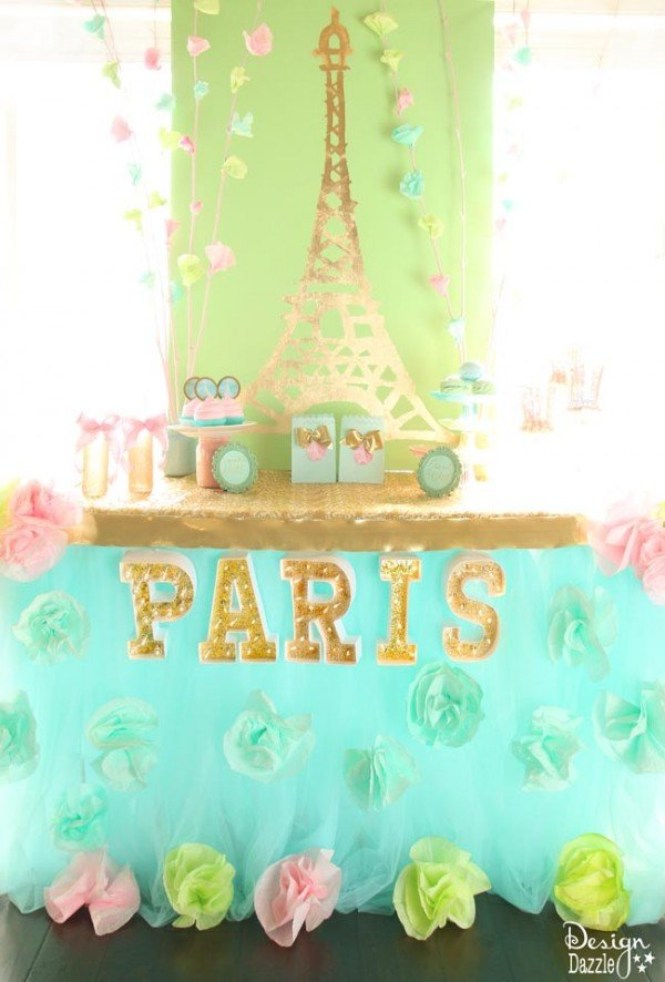 Springtime in Paris party