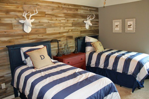 12 Ideas For Reclaimed Wood Decor In Kids Rooms