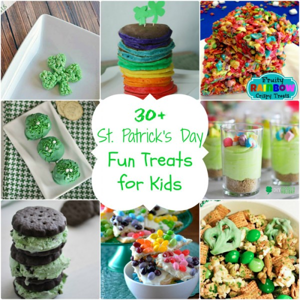 Yummy St. Patrick's Day treats for kids