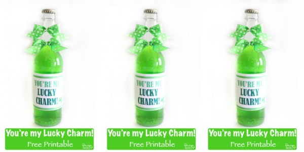 You're my lucky charm free printable! Design Dazzle