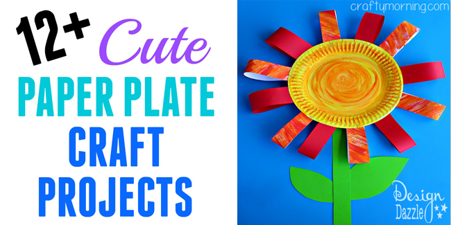 12 cute paper plate craft projects