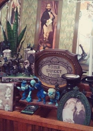 Disney Theme Haunted Mansion Office