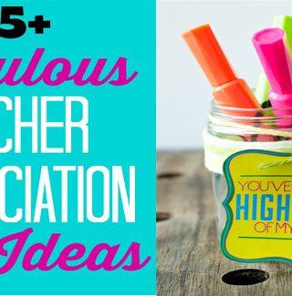 15 Teacher Appreciation Gift Ideas