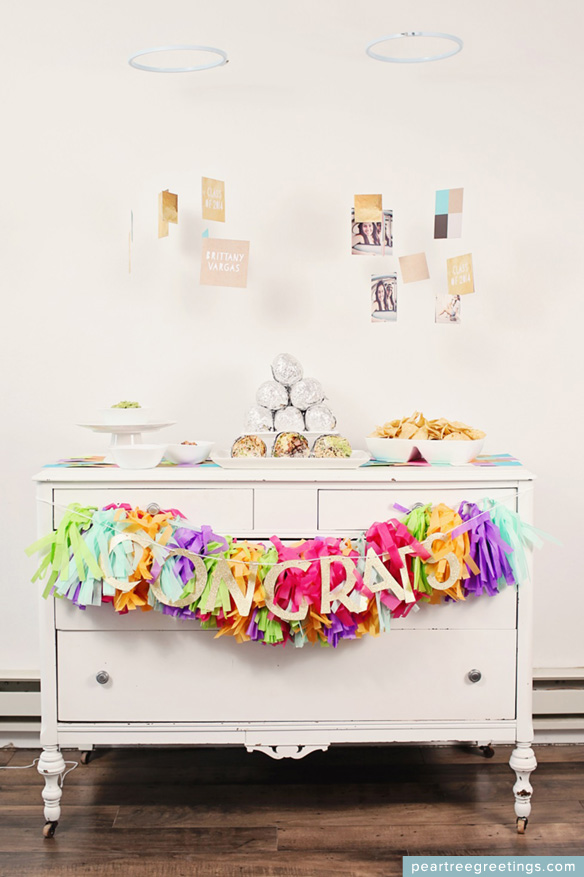LOVE these stunning graduation party ideas!