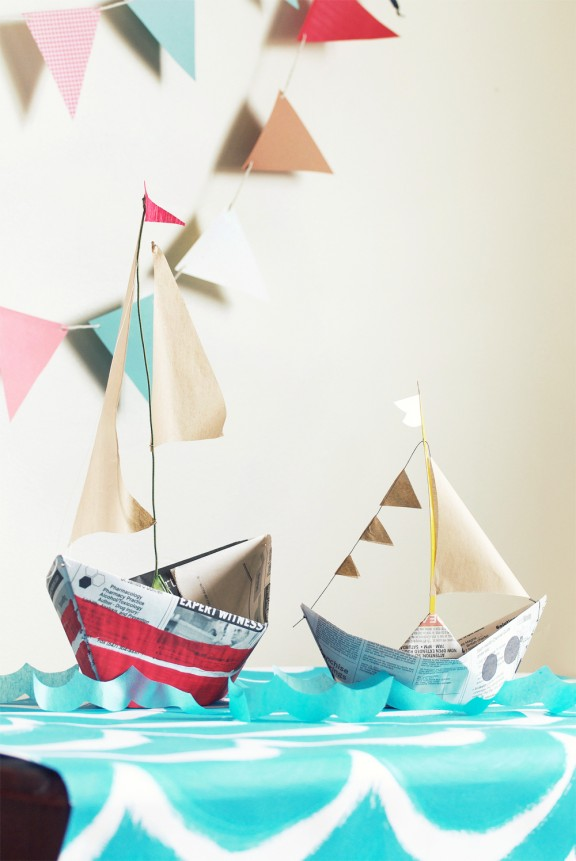 Such a stunning round up of nautical party ideas! Love it all!