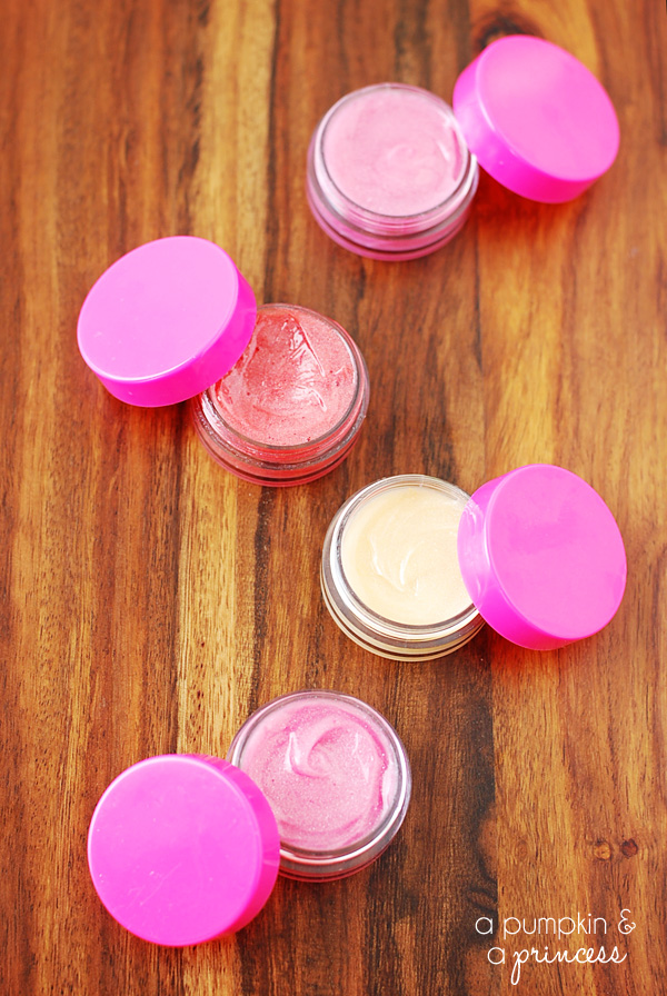 Two ingredient lip balm - what a fun and kid friendly Mothers day gift idea!