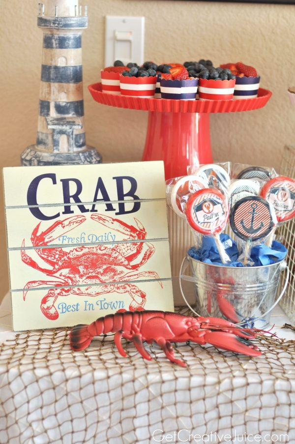 Such cute nautical party ideas! So timeless for a boys birthday!