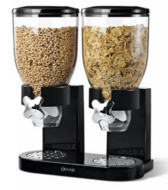 LOVE this mom must-have gift idea! GENIUS! Cereal dispenser!