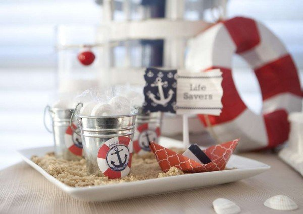 Love all of these nautical party ideas!