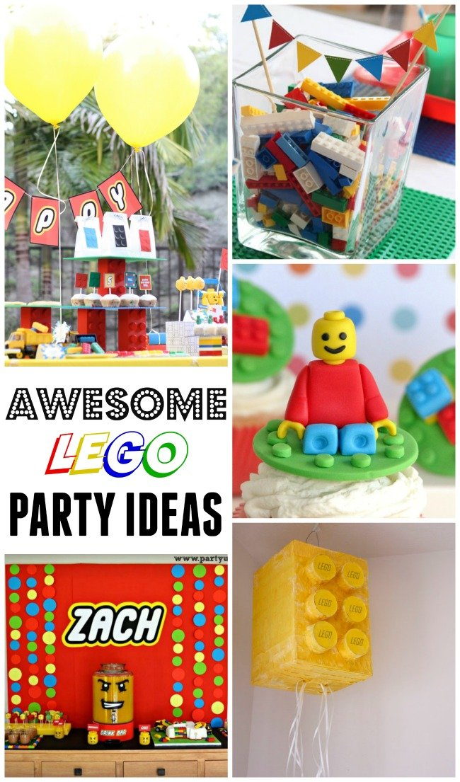 Awesome party ideas for those lego-loving kids!