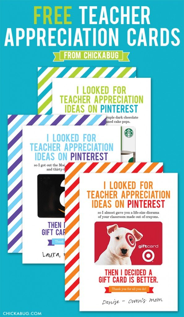 Haha - this is a hilarious teacher appreciation gift idea that any teacher would LOVE!