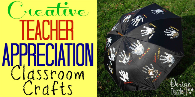 creative teacher appreciation classroom crafts