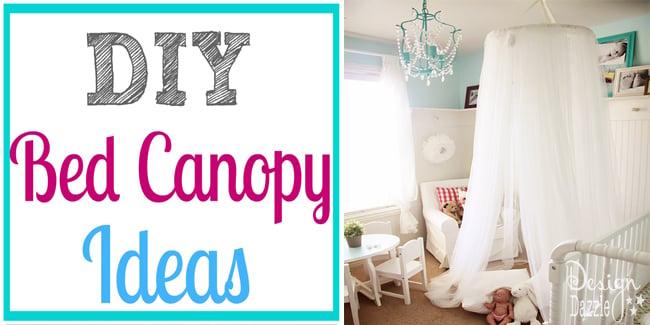 DIY bed canopy ideas