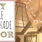DIY Wire Lampshade Decor